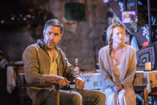 Paddy Considine and Genevieve O'Reilly in The Ferryman. Photo: Johan Persson
