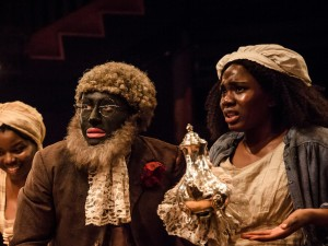 Emmanuella Cole, Alistair Toovey and Vivian Oparah in An Octoroon. Photo: The Other Richard