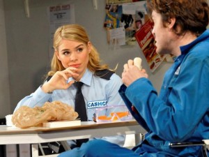 Billie Piper and Tom Burke in Reasons To Be Pretty. Photo: Keith Pattison