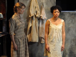 Sally Oliver and Cat Simmons in And I and Silence. Photo: Andrew Reed