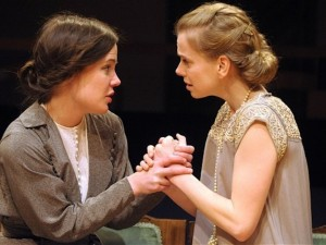 Katie McGuinness and Jennifer Higham in The Stepmother. Photo: Robert Day