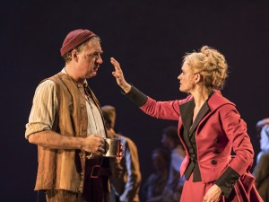 Brian Doherty and Anne-Marie Duff in Common. Photo: Johan Persson