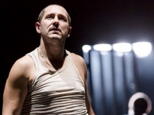 Bertie Carvel in Damned By Despair. Photo: Brinkhoff/Moegenburg