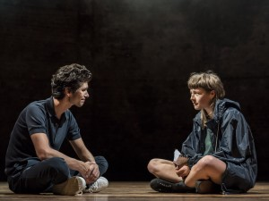 Ben Whishaw and Emma D'Arcy in Against. Photo: Johan Persson