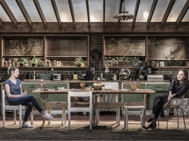 Laura Carmichael and Stockard Channing in Apologia. Photo: Marc Brenner