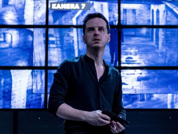 Andrew Scott as Hamlet. Photo: Manuel Harlan