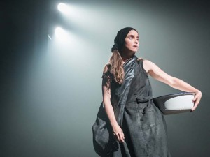 Judith Roddy in Knives in Hens. Photo: Marc Brenner