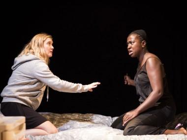Amy Morgan and Naana Agyei-Ampadu in Touch. Photo: Helen Maybanks