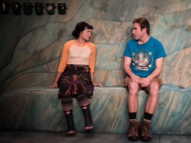 Ruby Bentall and Joe Bannister in Ramona Tells Jim. Photo: Samuel Taylor