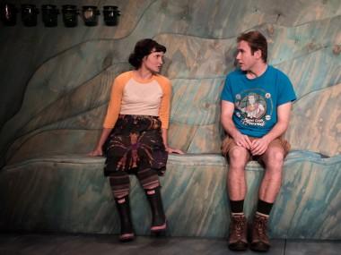 Ruby Bentall and Joe Bannister in Ramona Tells Jim. Photo: Samuel Taylor