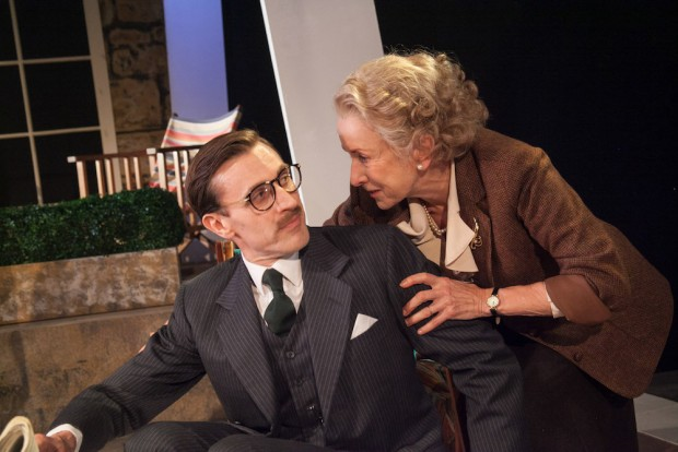 John Sackville and Susan Tracy in A Day by the Sea. Photo: Phil Gammon