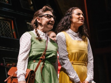 Pauline McLynn and Anna Shaffer in Daisy Pulls It Off. Photo : Tomas Turpie