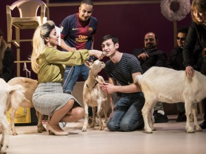 The cast of Goats. Photo: Johan Persson