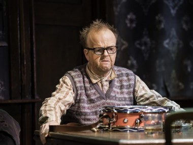 Toby Jones in The Birthday Party. Photo: Johan Persson
