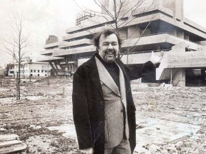 National Theatre artistic director Peter Hall. Photo: Nick Rogers/ANL/REX/Shutterstock