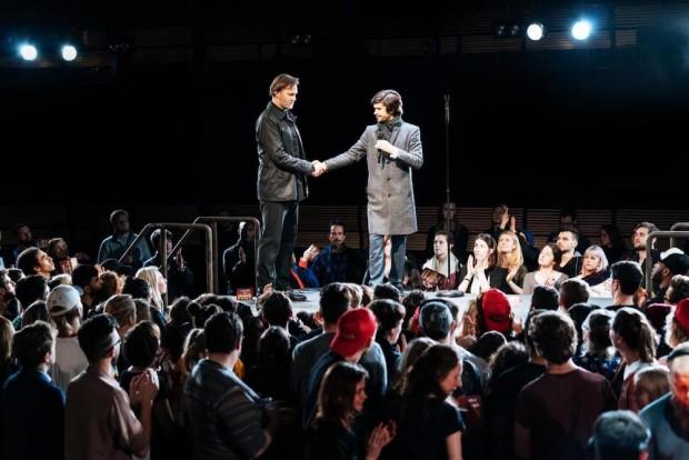 David Morrissey and Ben Whishaw in Julius Caesar. Photo: Manuel Harlan