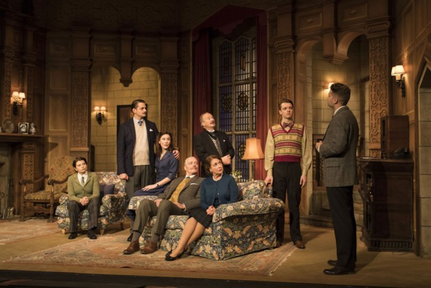 The cast of The Mousetrap