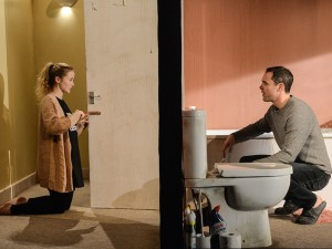 Shannon Tarbet and Joseph Thompson in Yous Two. Photo: Robert Day