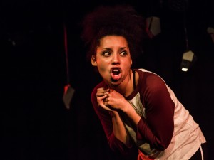Natasha Marshall in Half Breed. Photo: The Other Richard