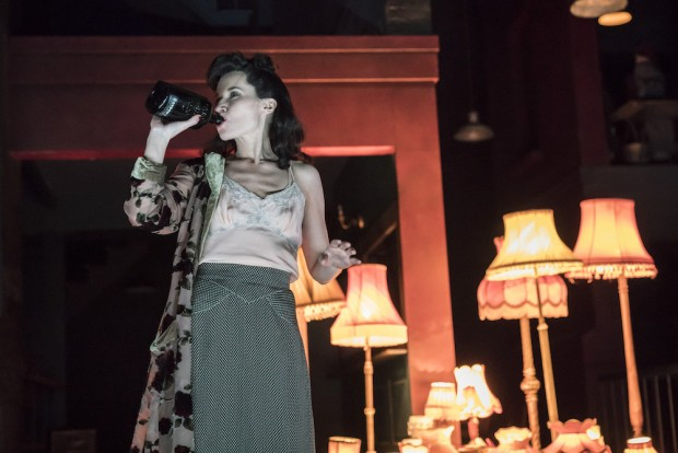 Kate Fleetwood in Absolute Hell. Photo: Johan Persson