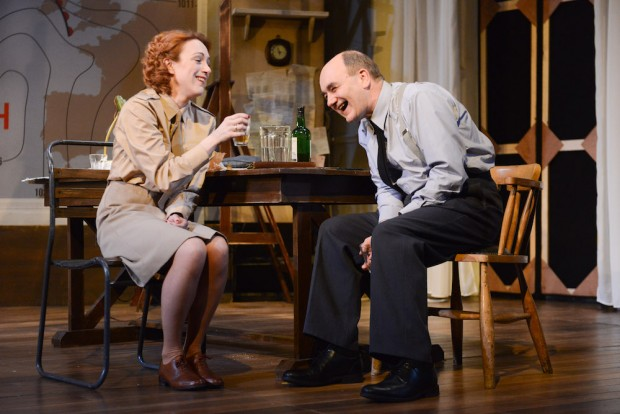 Laura Rogers and David Haig in Pressure. Photo: Robert Day