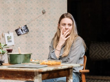 Romola Garai in The Writer. Photo: Manuel Harlan