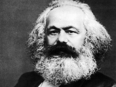 Philosopher and activist Karl Marx