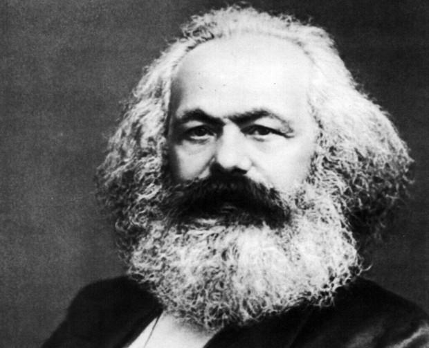 Philosopher and activist Karl Marx