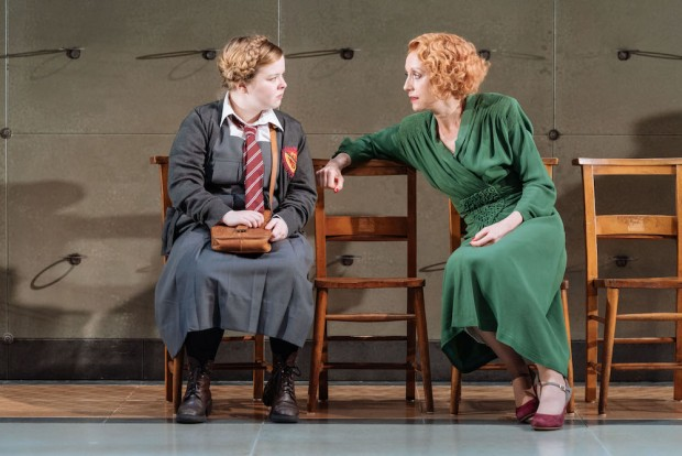 Nicola Coughlan and Lia Williams in The Prime of Miss Jean Brodie. Photo: Manuel Harlan