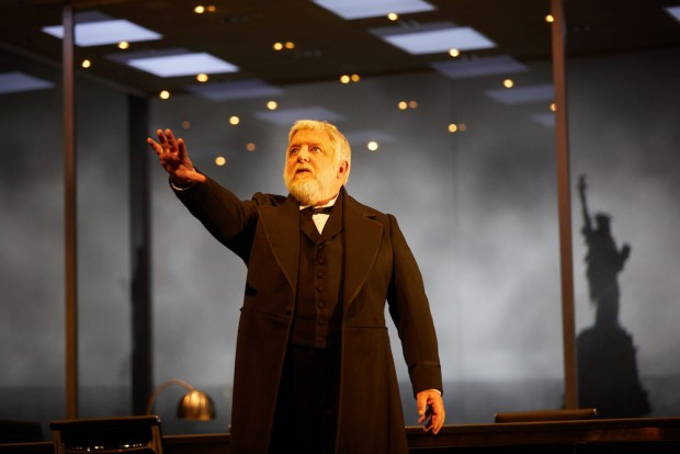 Simon Russell Beale in The Lehman Trilogy. Photo: Mark Douet