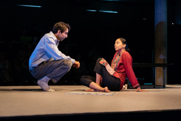 Shubham Saraf and Anjana Vasan in An Adventure. Photo: Helen Murray