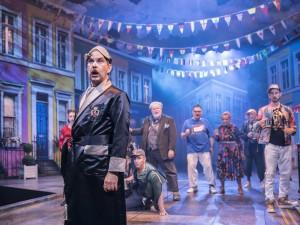 Gerard Carey in Twelfth Night. Photo: Johan Persson