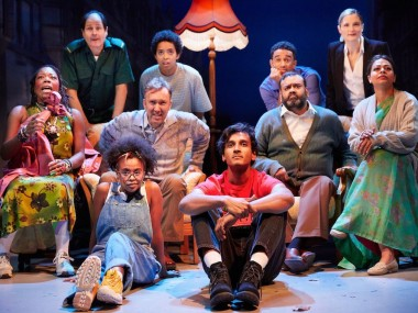 The cast of White Teeth. Photo: Mark Douet