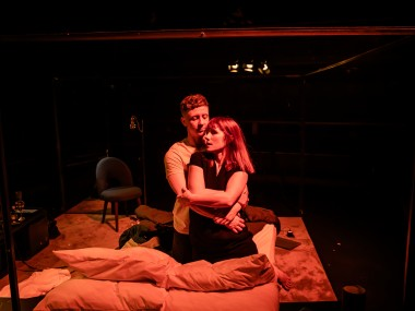 Mike Noble and Charlotte Randle in Cougar. Photo: The Other Richard