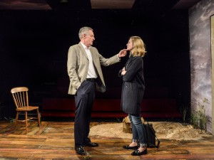 Michael Simkins and Yolanda Kettle in Eden. Photo: Robert Day