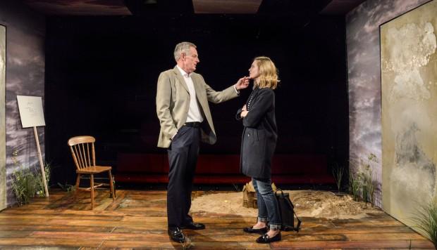 Michael Simkins and Yolanda Kettle in Eden. Photo: Robert Day