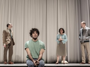 Zubin Varla, Ethan Kai, Syreeta Kumar and Robert Fitch in Equus. Photo: The Other Richard