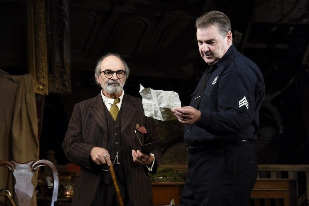 David Suchet and Brendan Coyle in The Price. Photo: Nobby Clark
