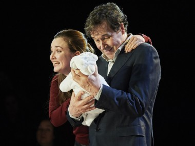 Amy Molloy and Stephen Rea in Cyprus Avenue. Photo: Ros Kavanagh