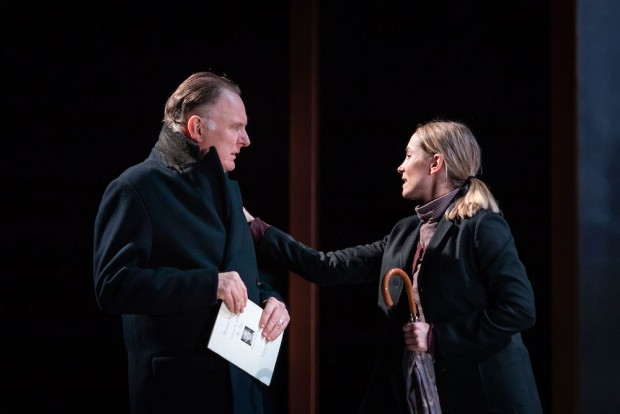 Robert Glenister and Joanne Froggatt in Alys, Always. Photo: Helen Maybanks