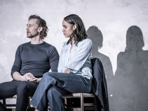 Tom Hiddleston and Zawe Ashton in Betrayal. Photo: Marc Brenner