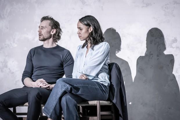 Tom Hiddleston and Zawe Ashton in Betrayal. Photo: Marc Brenner