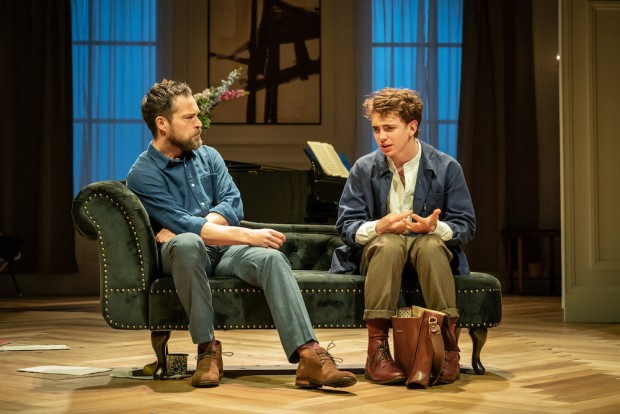 John Light and Laurie Kynaston in The Son. Photo: Marc Brenner