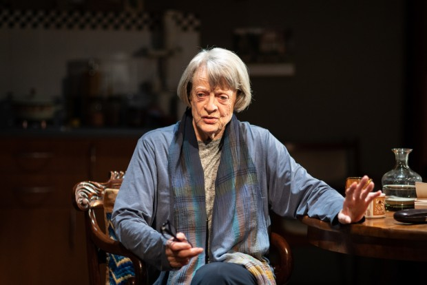 Maggie Smith in A German Life. Photo: Helen Maybanks