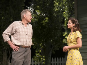 Bill Pullman and Jenna Coleman in All My Sons. Photo: Johan Persson