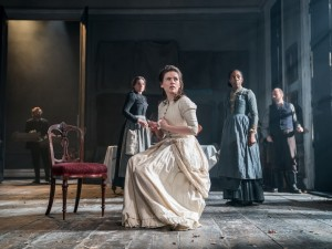 Hayley Atwell in Rosmersholm. Photo: Johan Persson