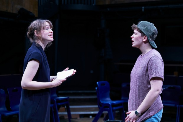 Lucy Briggs-Owen and Zoe West in Out of Water. Photo: The Other Richard