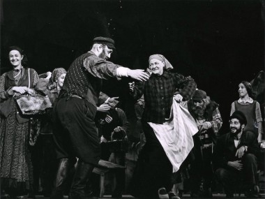 Original Broadway production of Fiddler on the Roof