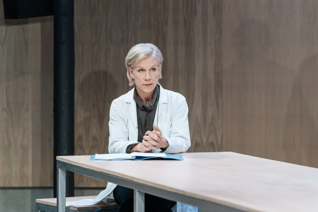 Juliet Stevenson in The Doctor. Photo: Manuel Harlan