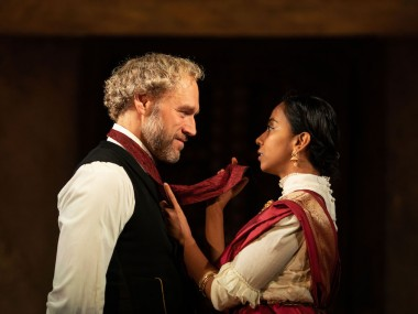 Elliot Cowan and Anjana Vasan in A Doll's House. Photo: Helen Maybanks